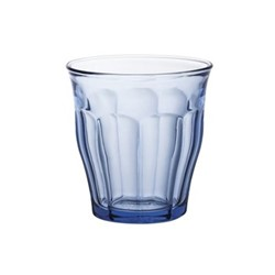 Picardie Marine Set of 6 glass tumblers, D8.7 x H9cm - 25cl, marine glass