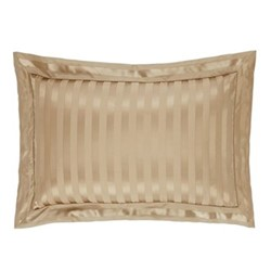 Fraser Stripe Oxford pillowcase, L50 x W90cm, sand