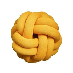 Knot Cushion, 30 x 30 x 15cm, orange