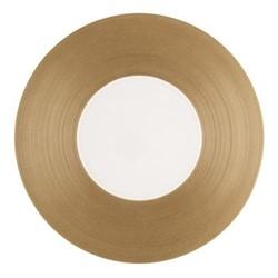 Hemisphere Charger plate, Dia32cm, copper metallic