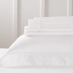 Richmond - 400 Thread Count Oxford pillowcase, W50 x L75cm, white