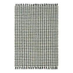 Atelier Poule Rug, 160 x 230cm, black