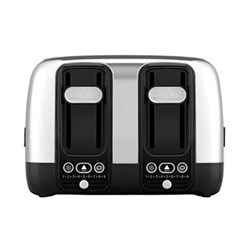 Domus 4 slot toaster - 46600