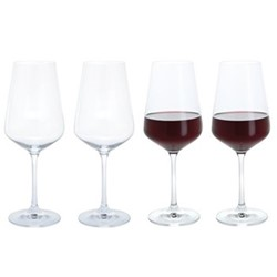 Cheers! Set of 4 red wine glasses, 450ml