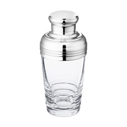 Oxymore Shaker, H21.5 x D3.5cm, clear crystal