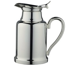 Classique Insulated coffee pot, 30cl, silver plate