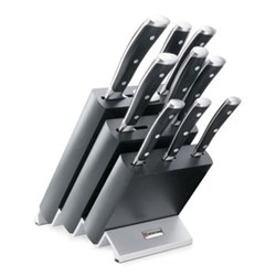 Ikon Classic Knife block set 9 piece