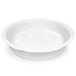 Ceramics Round pie dish, 27.5cm, white