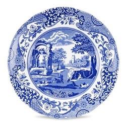 Blue Italian Set of 4 plates, 20cm