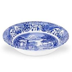 Blue Italian Set of 4 cereal bowls, 20cm