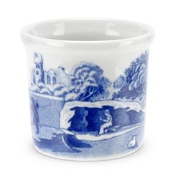 Blue Italian Set of 4 egg cups, 15cm