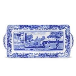 Blue Italian Sandwich tray, 33cm