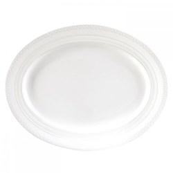 Intaglio Oval dish, 35cm