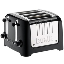 Lite - 46205 Toaster, 4 slot, black