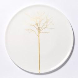 Golden Forest - Classic Cake plate, 32cm, fine bone china