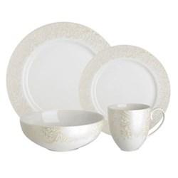 Monsoon - Lucille Gold 16 piece dinnerware set