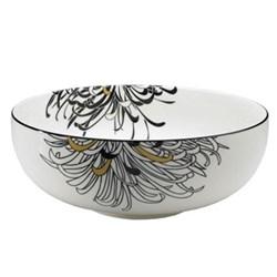 Monsoon - Chrysanthemum Serving bowl, 3.1 litre - 25 x 10cm