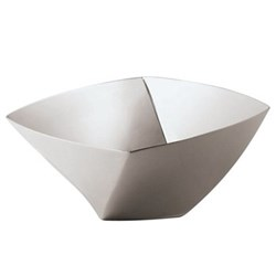 Lucy Bread basket, 24cm, stainless steel
