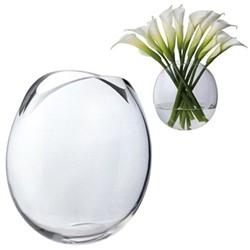 Flora Vase, H26cm, clear