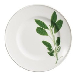 Herbaticum - Sage Dessert plate with rim, 19cm