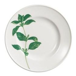 Herbaticum - Basil Dessert plate with rim, 19cm