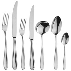 Rivelin 7 piece place setting, stainless steel