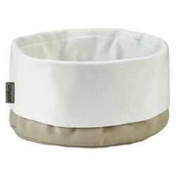 Klaus Rath Bread bag, H21 x D23cm, sand/white