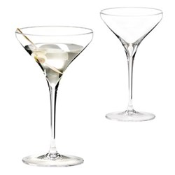 Vitis Pair of martini glasses, H19.3 x D11.4cm - 24.5cl