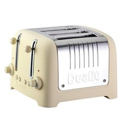 Lite - 46202 Toaster, 4 slot, cream