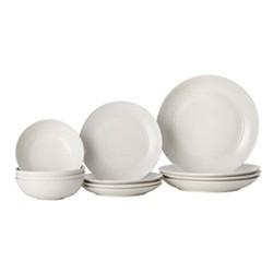 Gordon Ramsay - Maze 12 piece dinner set, white
