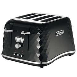 CTJ4003.BK - Brillante Toaster, 4 slot, black