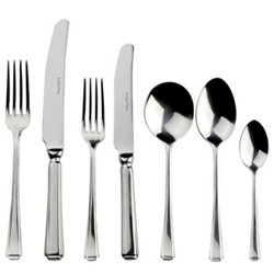 Harley 88 piece cutlery set, stainless steel
