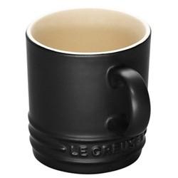 Stoneware Espresso mug, 100ml, satin black