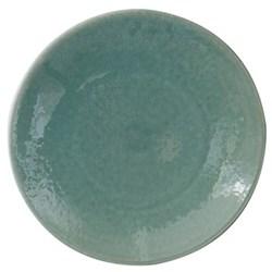 Tourron Pair of dessert plates, 20cm, jade