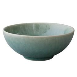 Tourron Pair of bowls, 14cm, jade