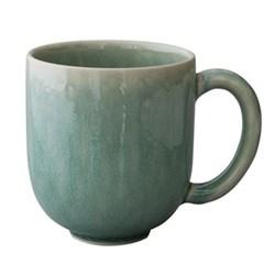 Tourron Pair of mugs, 36cl, jade