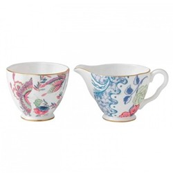 Harlequin Collection - Butterfly Bloom Cream and sugar set