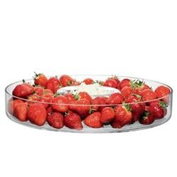 Serve Serving platter, 35cm, clear