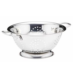 Colander, 24cm, stainless steel twin wire handled