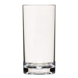Coolmovers Set of 6 highball tumblers, 30cl, clear polycarbonate