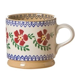 Old Rose Set of 4 small mugs, H7cm