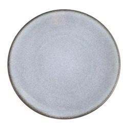 Tourron Pair of dessert plates, 20cm, gris ecorce