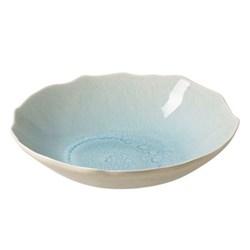 Plume Pair of soup plates, 20cm, ocean blue