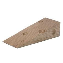 Cheese doorstop, oak
