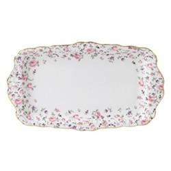 Rose Confetti - Vintage Sandwich tray