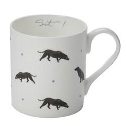 Black Labrador Mug, 27.5cl