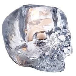 Skull Votive, Dia11.5cm, clear