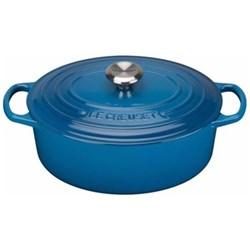 Signature Cast Iron Oval casserole, 27cm - 4 litre, marseille