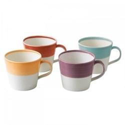 1815 Brights Set of 4 mugs, 40cl, brights
