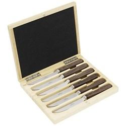 Texas Set of 6 steak knives, 23.2cm, stainless steel